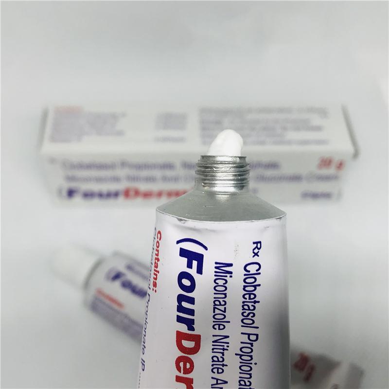 原装进口印度FourDerm脚部护理膏护足霜送棉签20g